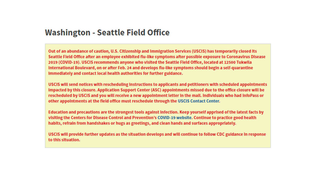 Coronavirus-Closes-USCIS-Seattle-Field-Office-Screencap